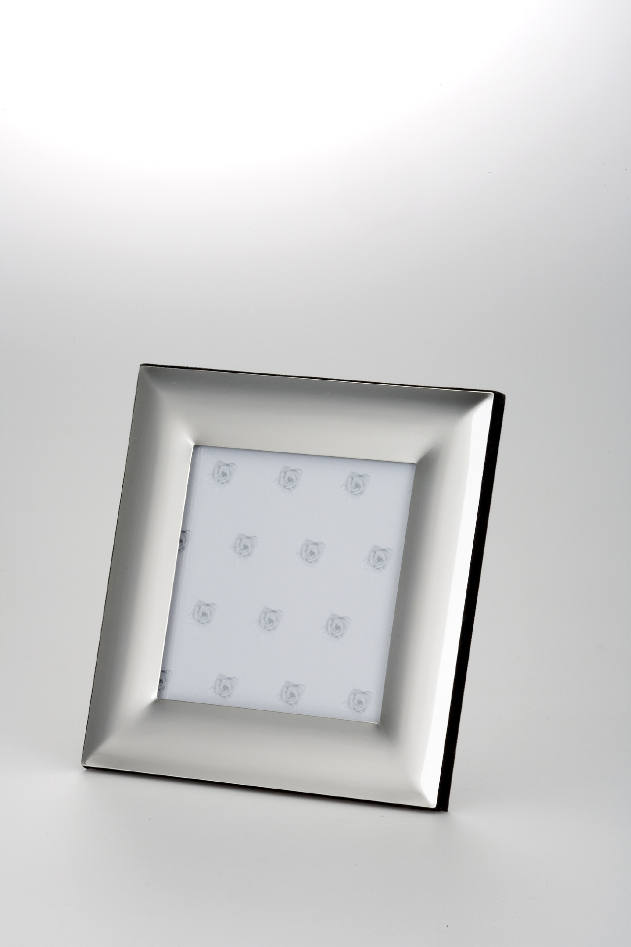 Fotorahmen quadratisch Glatt versilbert 10 x 10 cm - stylisch ...